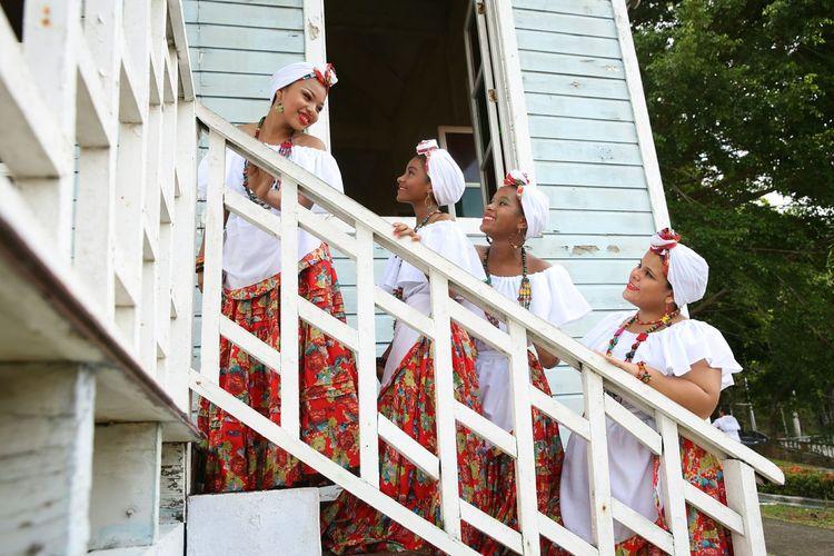 Etnies Razas Culture Panamá Afrodescendientes Cultura Girls Place Of Heart