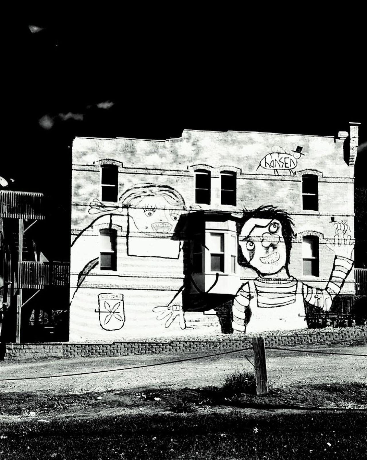 The Changing City Wallart Grafetti Art