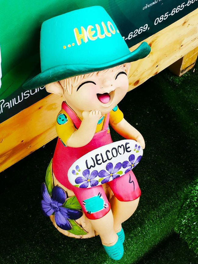 Doll Clay Doll Welcome Smile