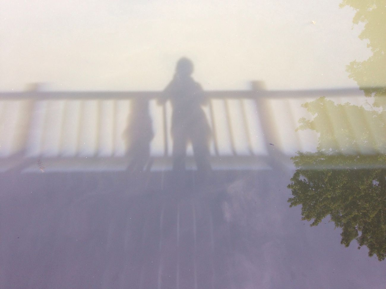 Me and my shadow-iphoneography