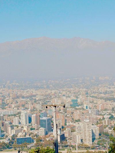 Cityscape Urban Skyline Santiago De Chile