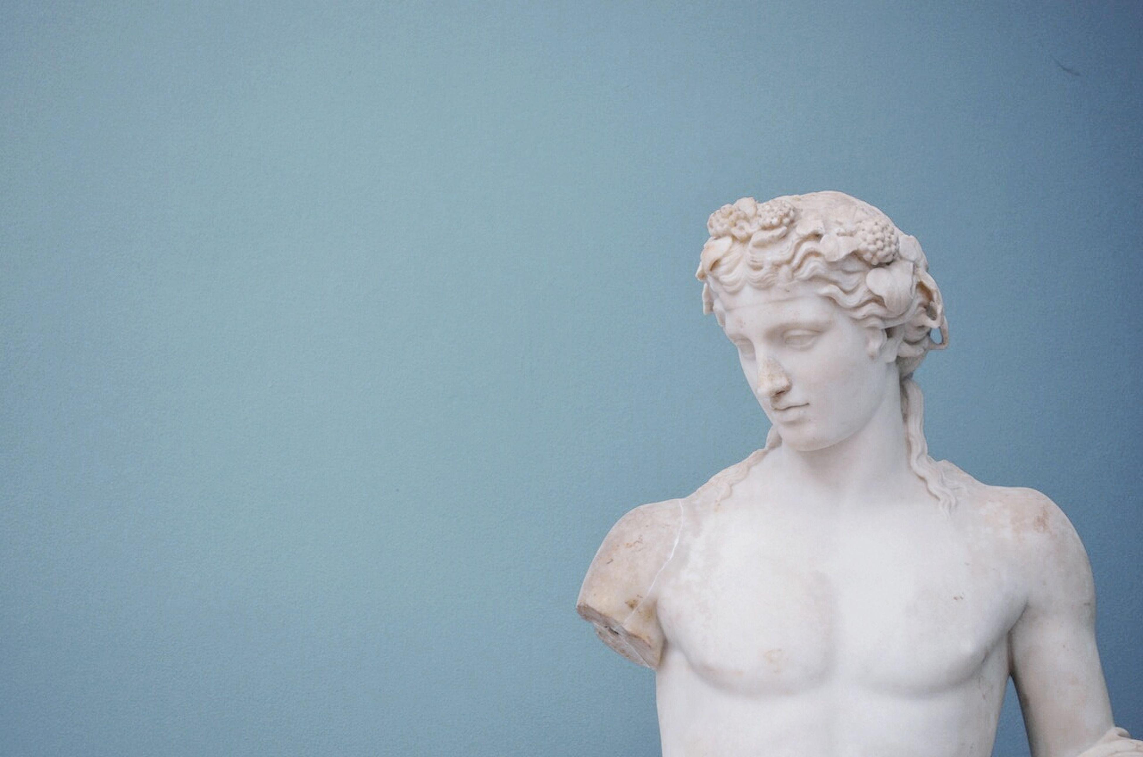 Artsy Fartsy Art Sculpture He Looks Like Our Neighbor David Lol Greek