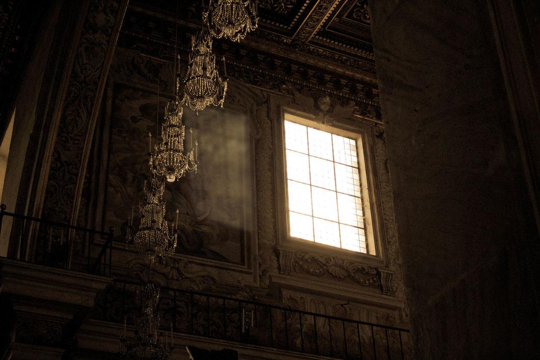 Window Rome Italy🇮🇹 Church Interior Ara Coeli