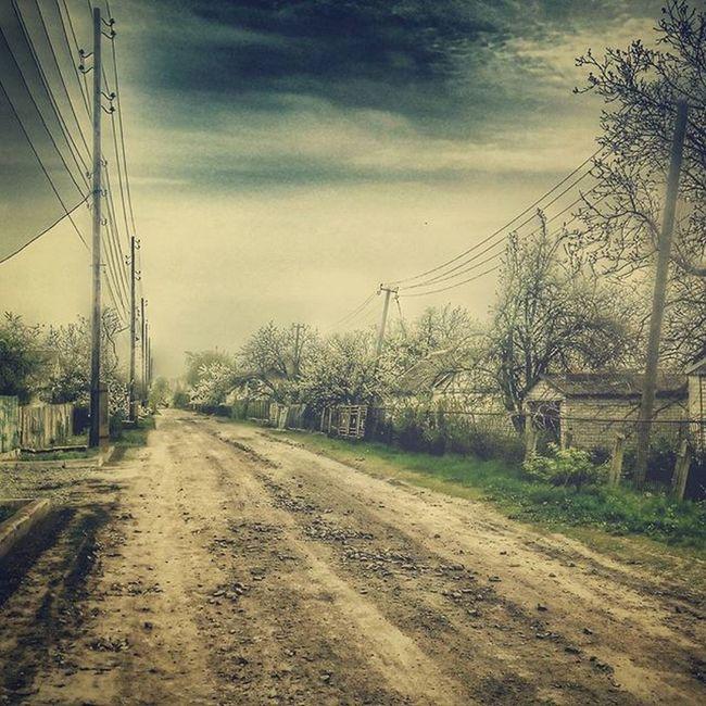 проселочнаядорога Дорога улица поселок пейзаж Vk