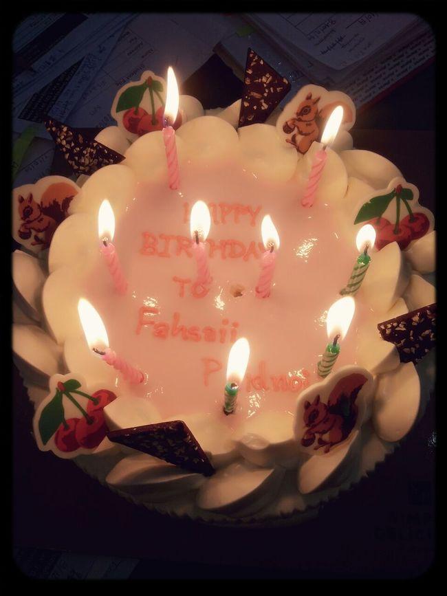 Happy Birthday To Me ❤ 4/12/2014ที่ ห้องนอนสีฟ้าที่มีเจ้าของนามว่านู๋ฟ้าใส ใจชื่นบาน ❤