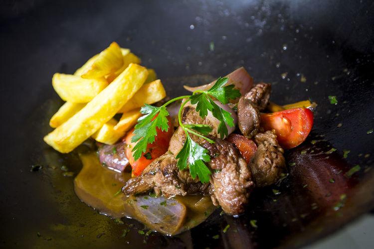 Lomo saltado Food And Drink Freshness Lomo Saltado Peruvian Food Food Fusion Food Meat Ready-to-eat