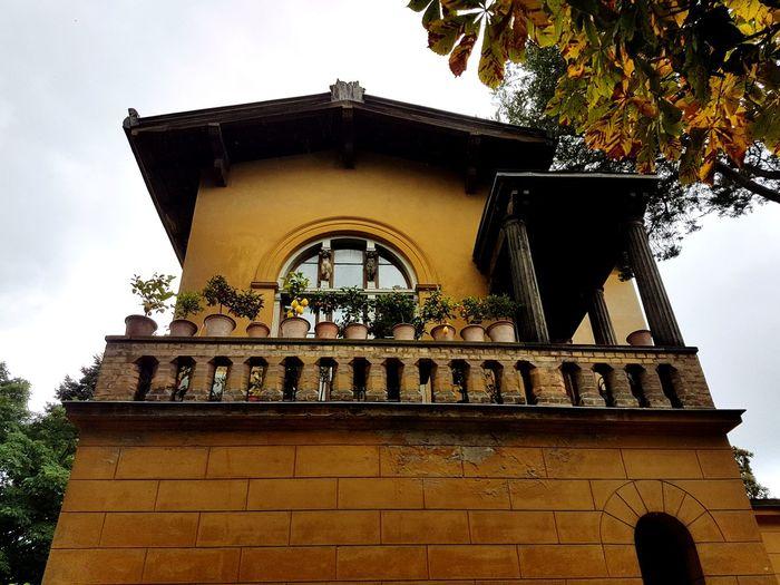 Architecture Built Structure Low Angle View Building Exterior History Famous Place Sky Outdoors Stone Material Architectural Feature No People Façade Tourism Potsdam Potsdam Park Sanssouci