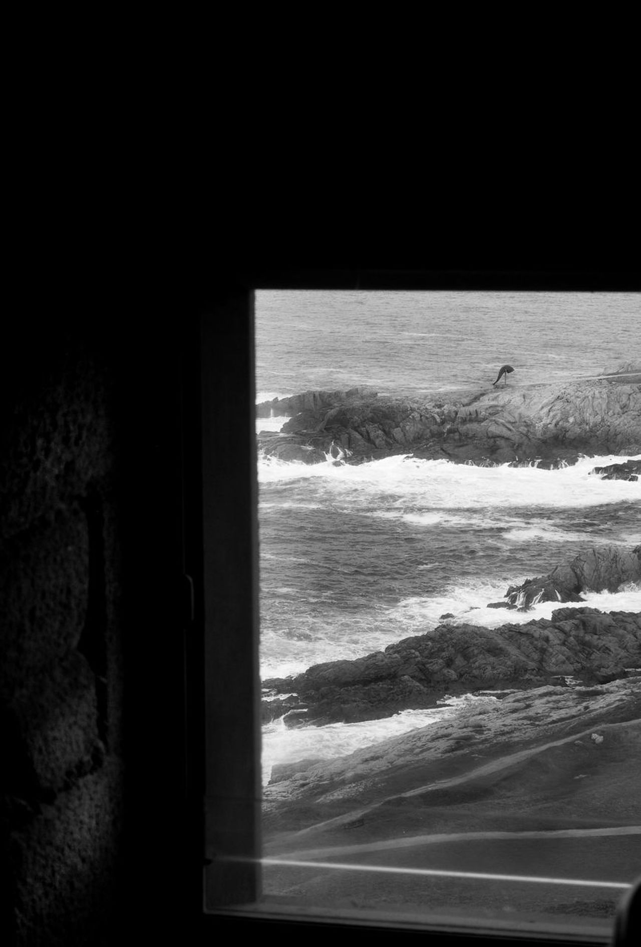 Nature Cold Temperature Sea Beauty In Nature Outdoors Sky Acoruña TorreDeHercules Black And White Photography Architecture B&w Street Photography Fotography Black&white Welcome To Black