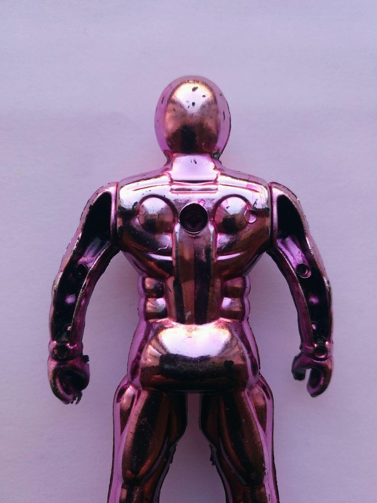 Robotsuit Close-up Colour Image Toy Toyphotography Figure Plasticfigure Superhero Robotman Iron Man Robots Robot Android Toyfigures Pink Color