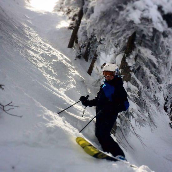 skiing the chutes Skiing Snow Enjoying Life ThatsMe
