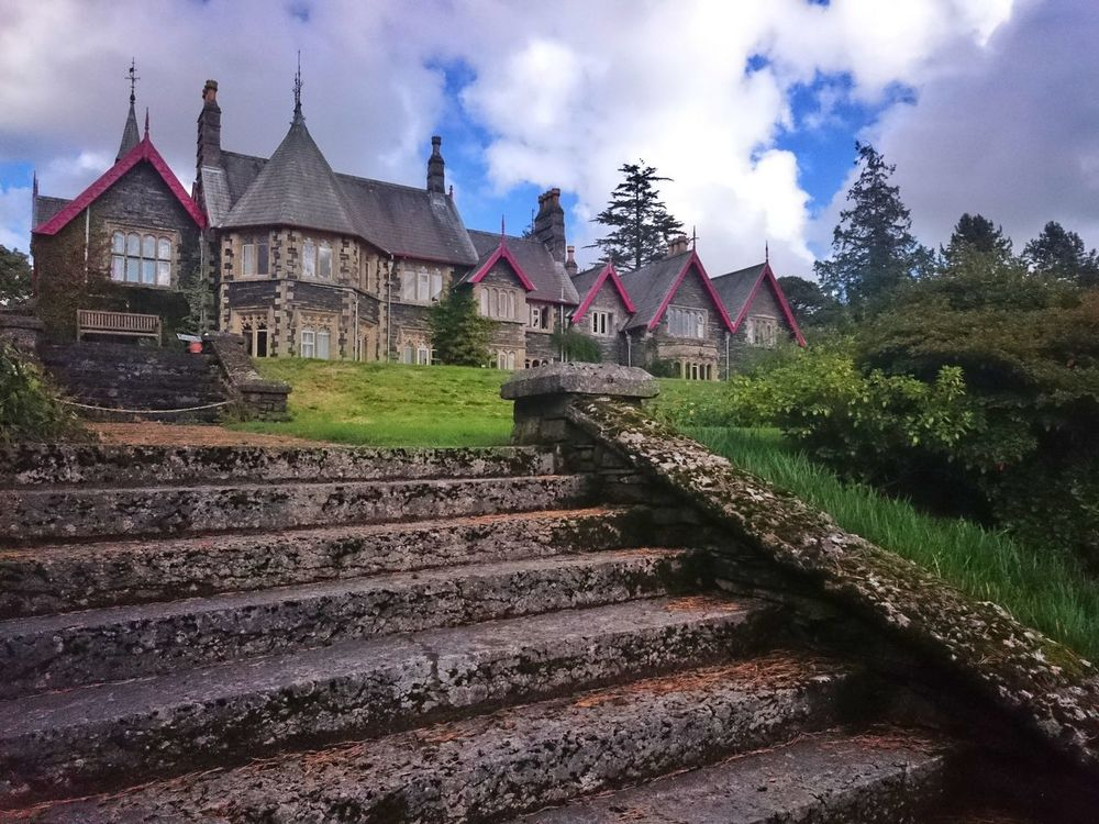 Built Structure Architecture Victorian Architecture Manor House Tranquility Colour Of Life Outdoor Photography Lake District