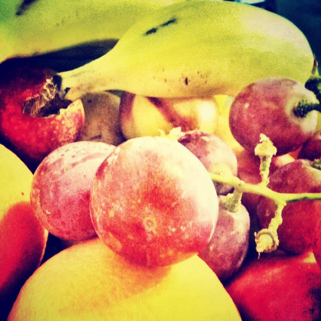 Fruit at work Fruit Grapes Banana Foodporn