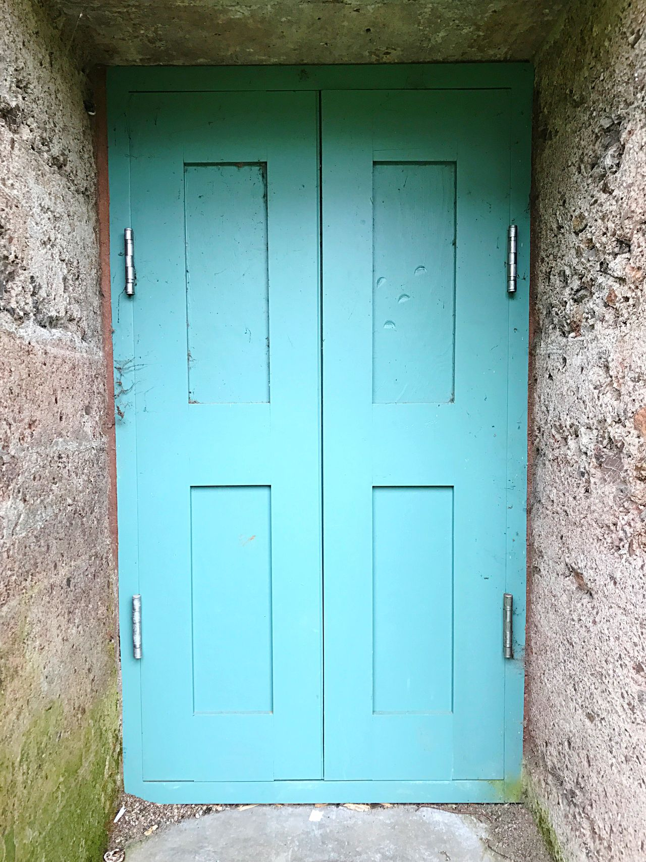 Closed Door Safety Security Protection Architecture No People Built Structure Blue Day Outdoors Building Exterior Close-up Open Edit Golden Gate Park Murphy Windmill Doorway