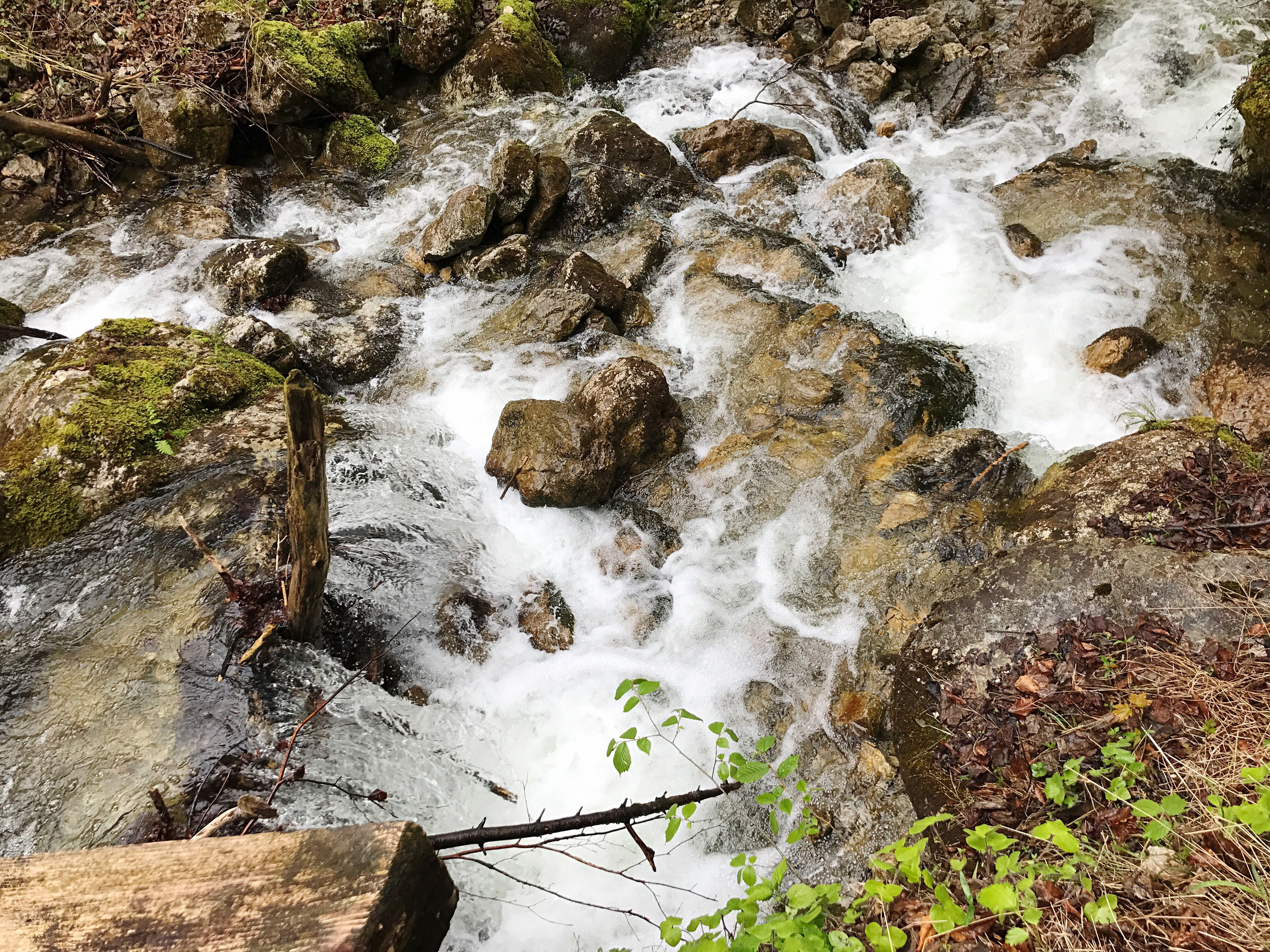 nature, high angle view, water, beauty in nature, waterfall, river, rock - object, tranquil scene, scenics, tranquility, motion, no people, outdoors, day