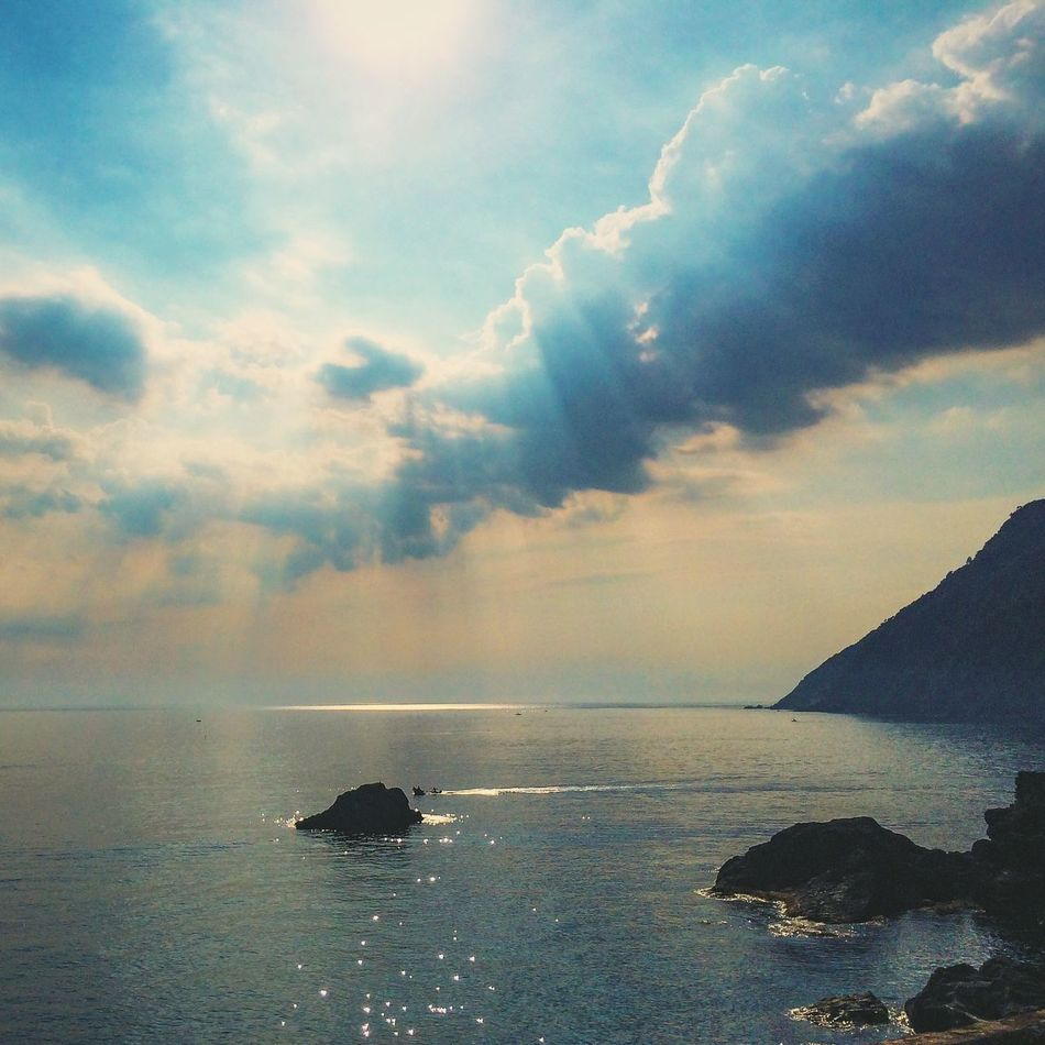 Beautiful stock photos of heaven, Atmospheric Mood, Beauty In Nature, Casarza Ligure, Cliff