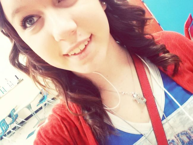 Early release day. ♥ Curled my hair. (: