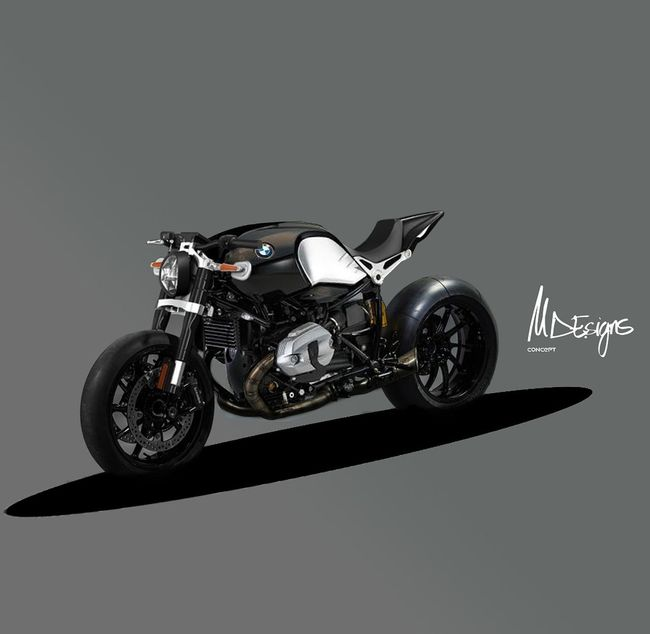 Bmw Motorcycle Ninet Concept Retro Styled Motorcycle Old-fashioned Own Style  Laklines Diseño Designer  Riding Biker Bikelife Spain🇪🇸 Gear Motorcycle Adventure