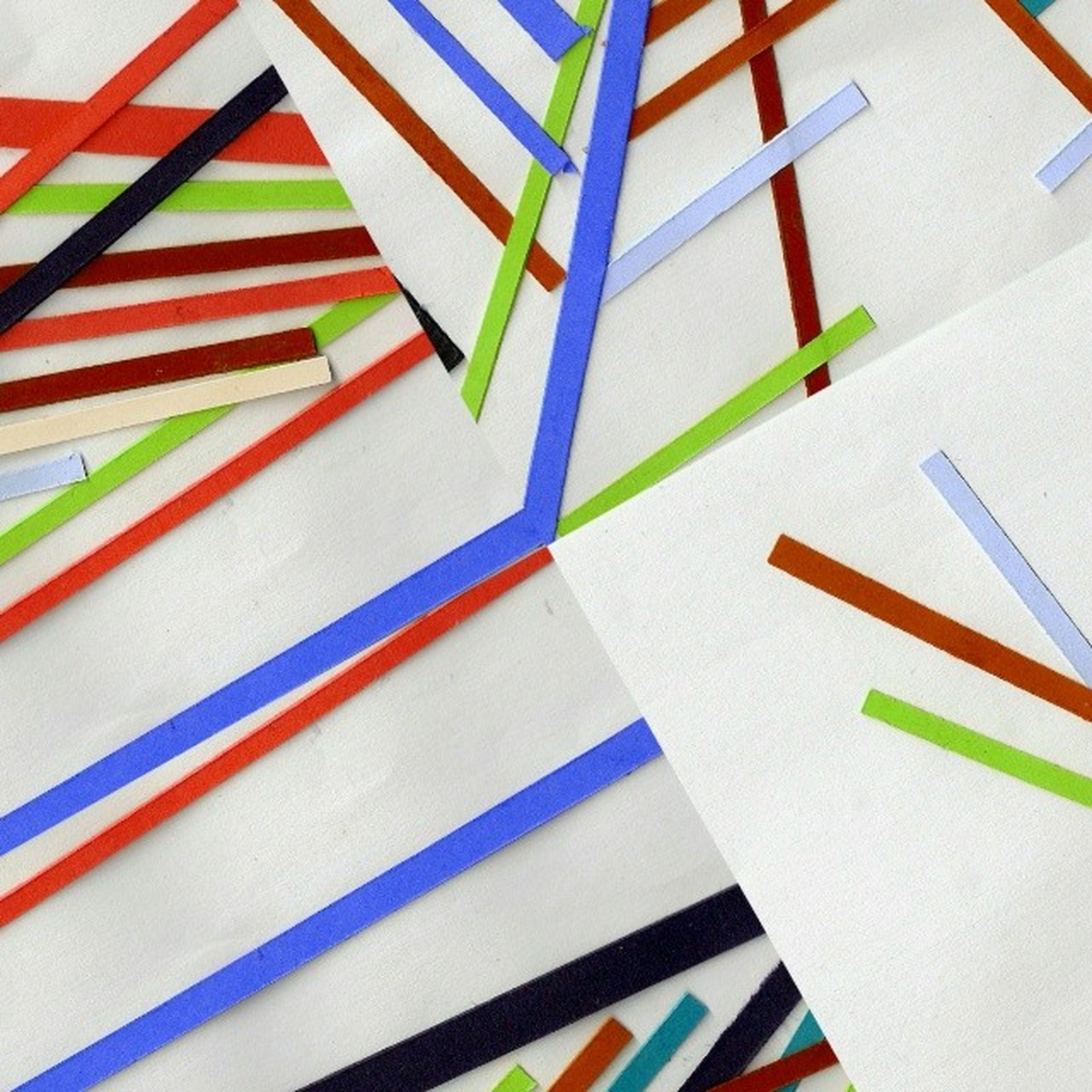 pattern, multi colored, low angle view, railing, built structure, architecture, steps, steps and staircases, striped, close-up, no people, day, design, blue, yellow, high angle view, in a row, indoors, colorful