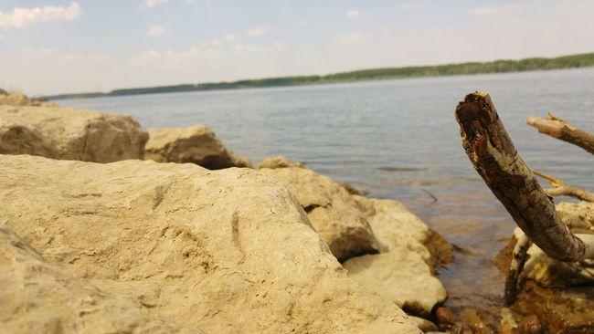 Riverbank Riverbank Stones & Water Stones Water River Danube River Danube Lom