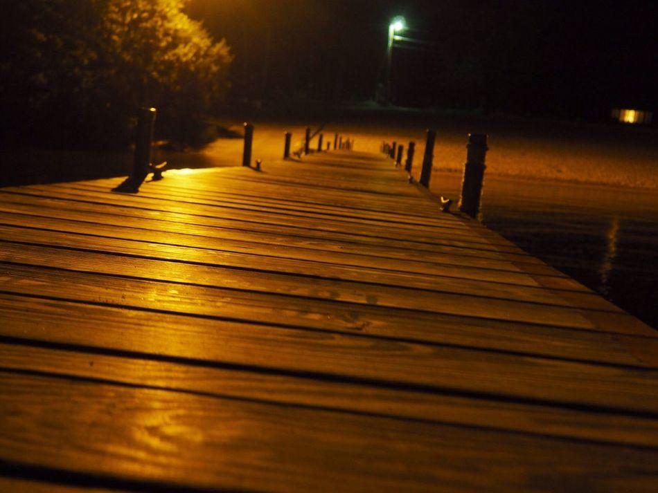 Olimpus Photography Dock Night Photography Orenge