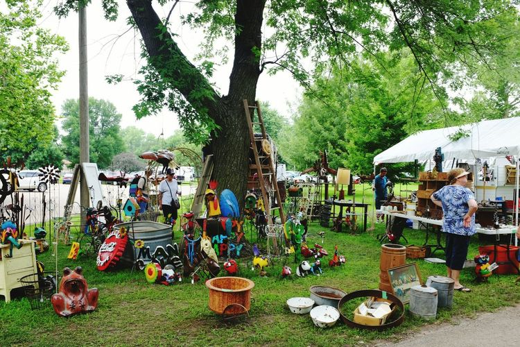 Fleamarketfinds Hunting Relics Metal Art Shoppping Small Town USA Messthetics