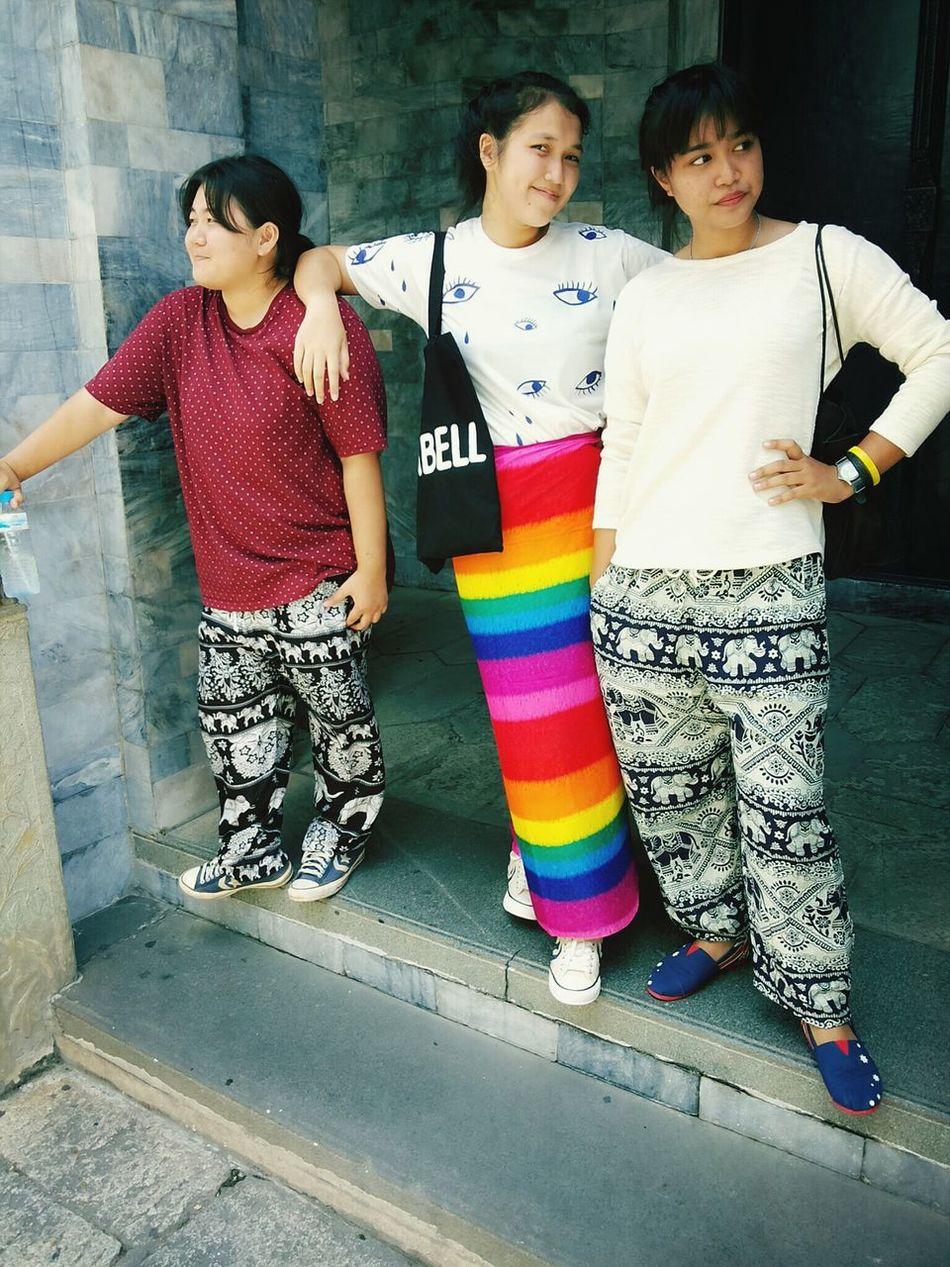 Wad Prakaew's Fashion lol Taking Photos Thai Temple Fashion That's Me