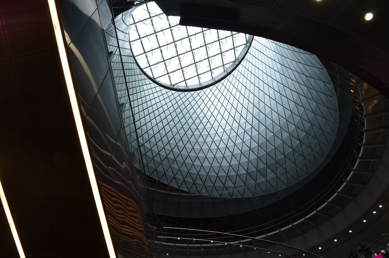 Who needs filters when you have a city like New York? Pattern Architecture Built Structure Low Angle View Indoors  Modern No People Building Atrium Day Close-up Architectural Design