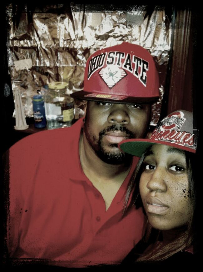 Husband And Wife Throw Back Last New Years