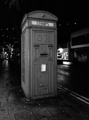 Night No People Frodsham Phonebox