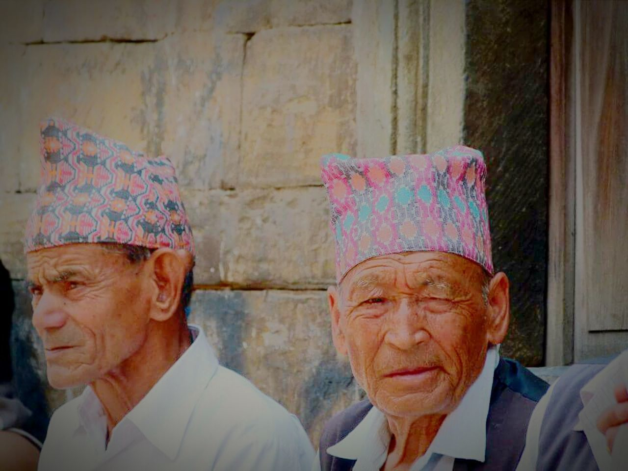 Headshot Person Nepali Culture Teashop Village Road Oldies Nepalipeople😊 Nepalese Pashupatinath