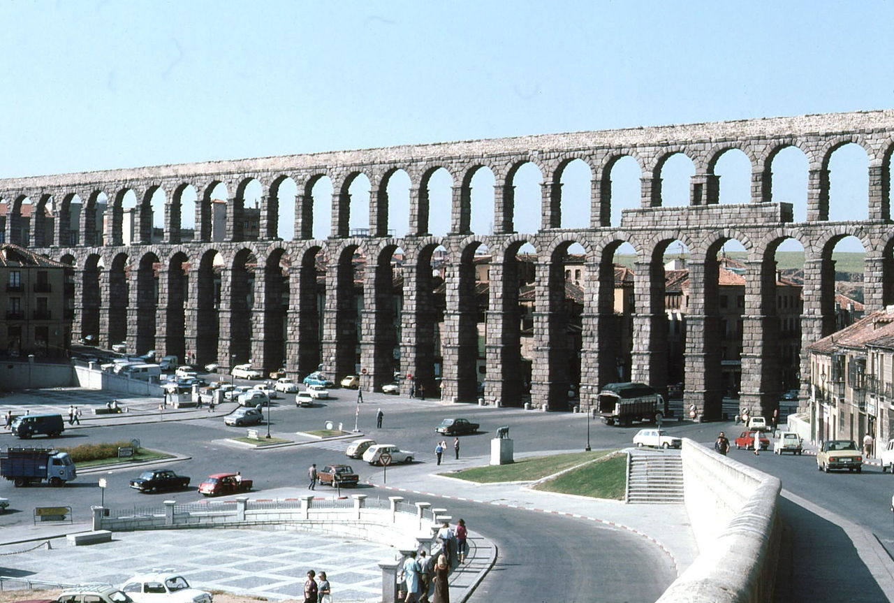 Roman Aqueduct Amazing Architecture Antiquity Aqueduct Architecture Blue Sky Built Structure City City Life Clear Sky Composition Day Famous Place History Incidental People Outdoor Photography Roman Segovia SPAIN Stone Wall Street Structure Tourism Tourist Attraction  Travel Destinations