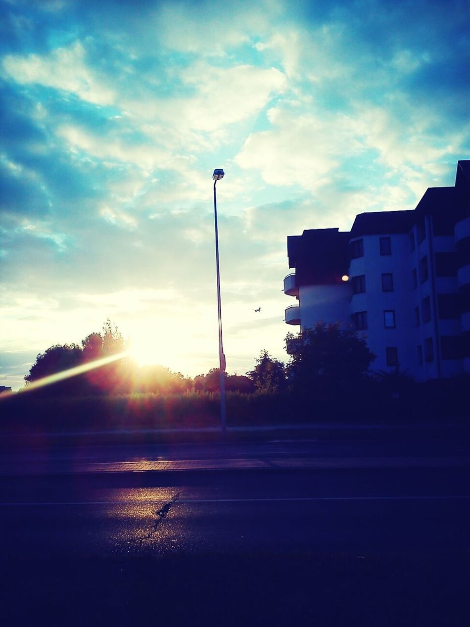 Warsaw Sunshine Sky