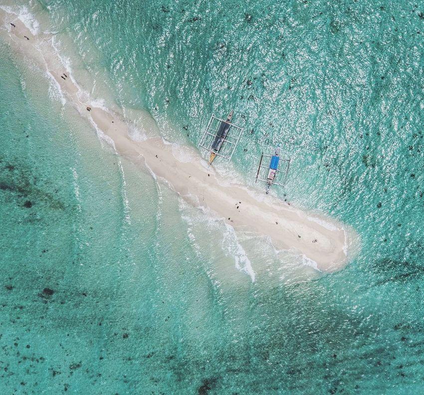 A Bird's Eye View Island Sandbar Beach Travel Lost In The Landscape