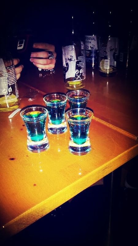 Shot Drinks Go Go Go Let's Go Party