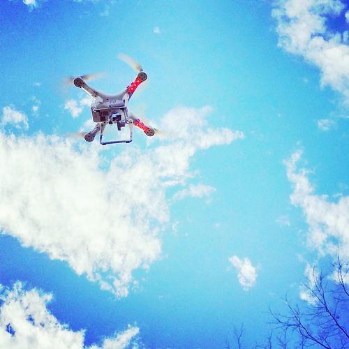 Drone  Phantom Sky Clouds