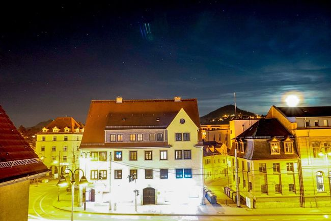 Here Belongs To Me Jena Thuringen University EyeEm Best Shots Night Lights Easter Sony A6000 Nightphotography Nightlights Night Moon Moonlight Starrynight Starry Night Starry Sky