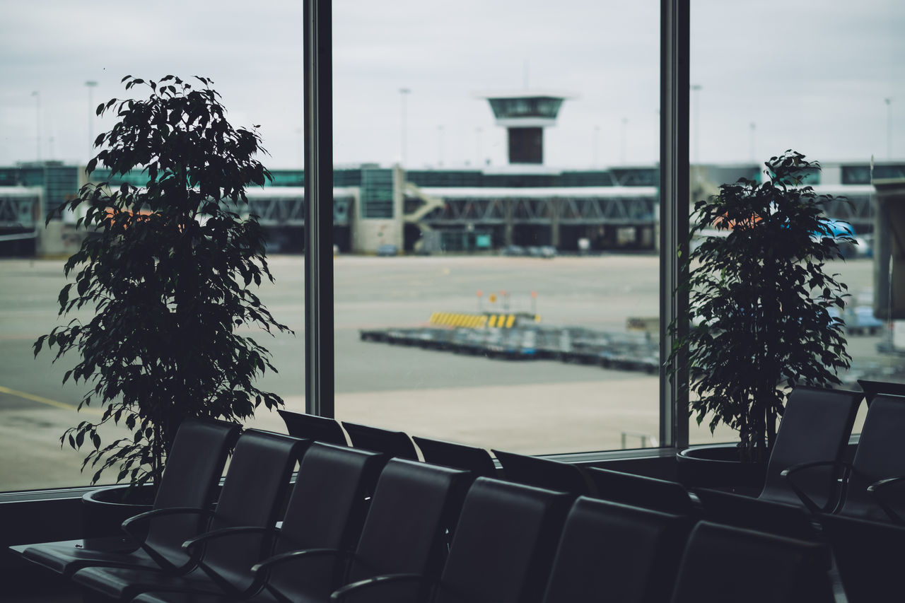 Beautiful stock photos of airport, Airport, Chair, Day, Empty