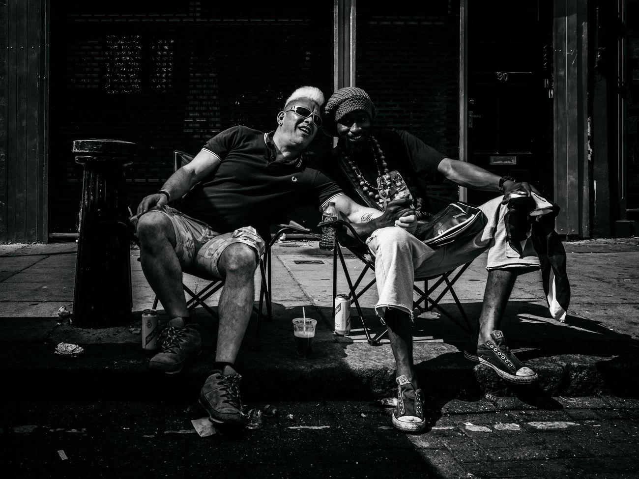 Friends will be friends. Monochrome Photography Street Photography Street Streetphotography Maxgor Maxgor.com Rawstreets Blackandwhite Streetphotography_bw Black And White Streetphoto_bw Olympuspenef Olympus Pen-f Peope London Prime Lens 35mm Notting Hill