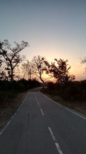 Sun set......road!!!!
