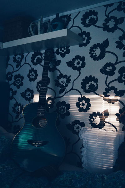 My Favorite Place Guitar Home Sweet Home Cosy Place Light And Shadow Playing With Light Love Indoors  Always Be Cozy