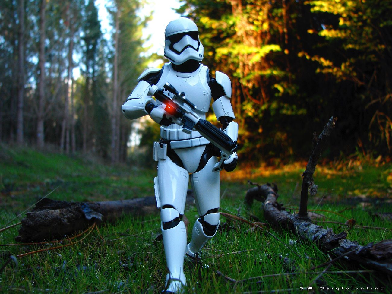 """SW - FIRST ORDER. """"I'm a Stormtrooper."""" Toysaremydrug Toyoutsiders Toptoyphotos Stormtroopers Toysphotography Rogue One Starwars Disney TheForceAwakens MayThe4thBeWithYou RogueOne BANDAI Toyslagram_Starwars Jedi"""