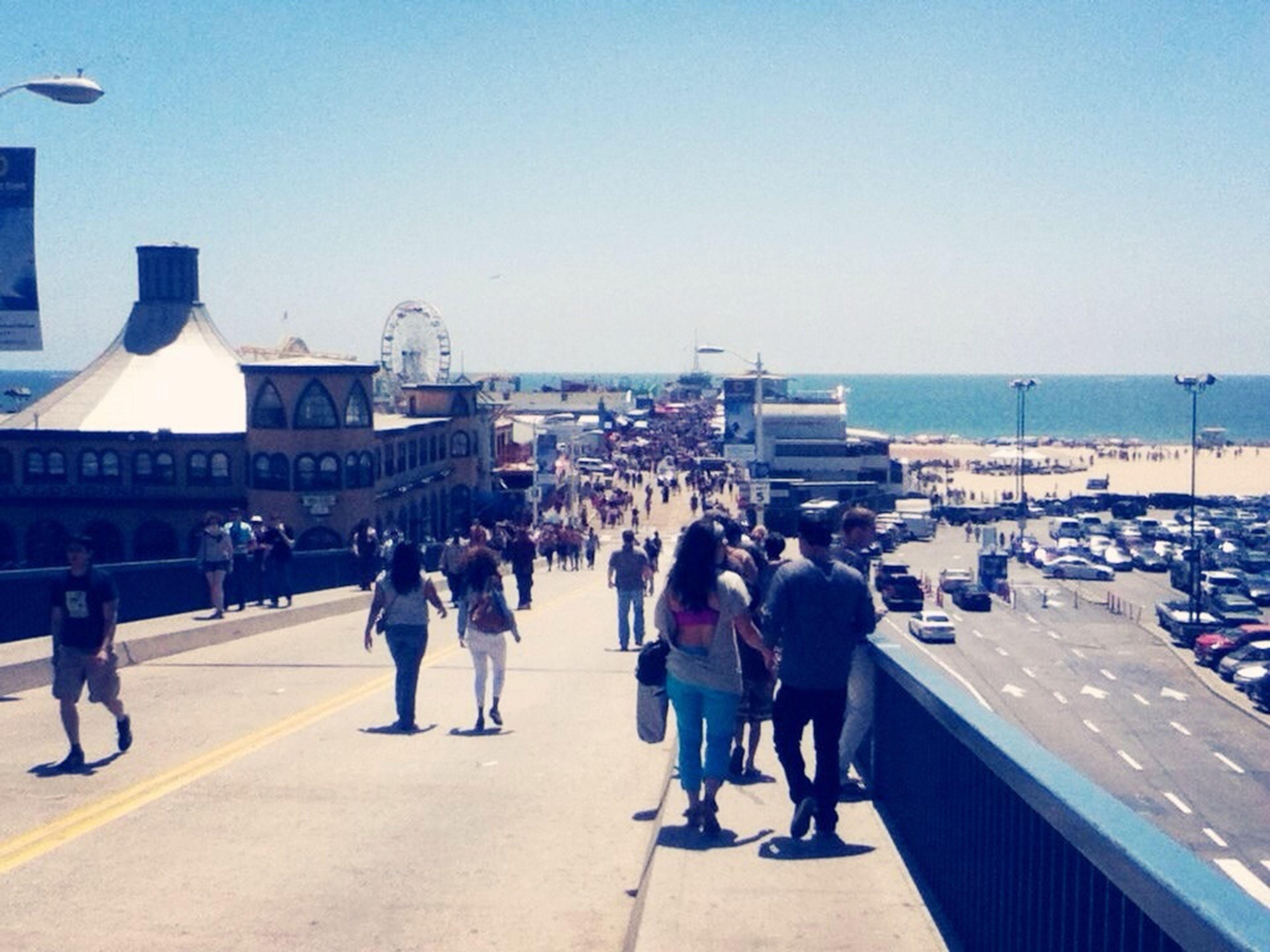 Santa Monica pier On The Beach California