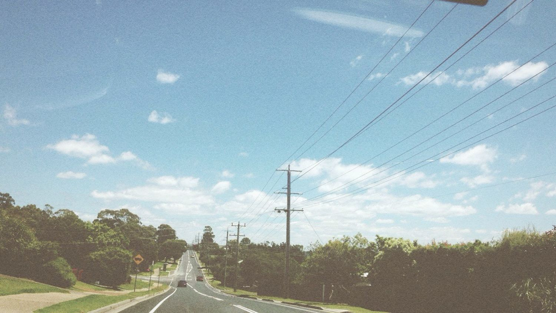 16-1-15 beautiful day Boundary Road Sunny Summer Lovely
