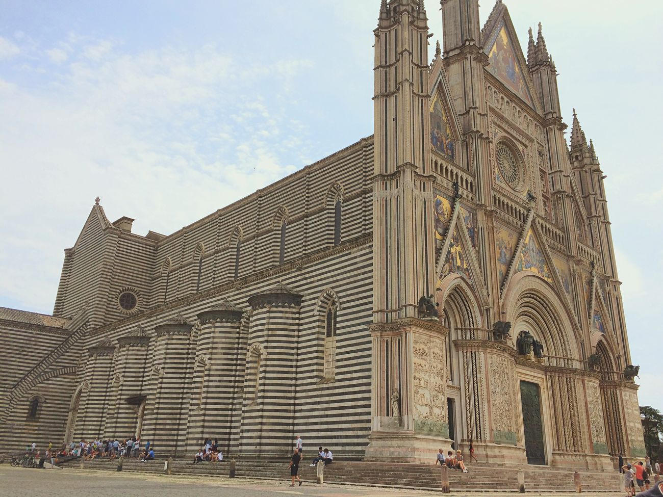 Orvieto, Italy Church Beautiful Religion Umbria, Italy Italy HillTopChruch Hilltop Walksofitaly Breathtaking Colour Of Life