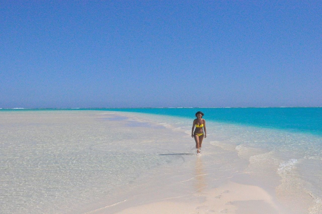 Paradise on earth Aitutaki South Pacific Cook Island