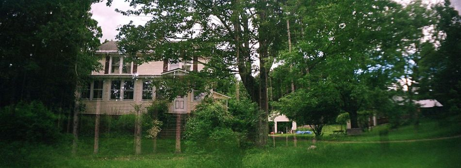 Koduckgirl Tree Building Exterior Architecture House Outdoors Film Sprocket Rocket Panorama Farmhouse Double Exposure