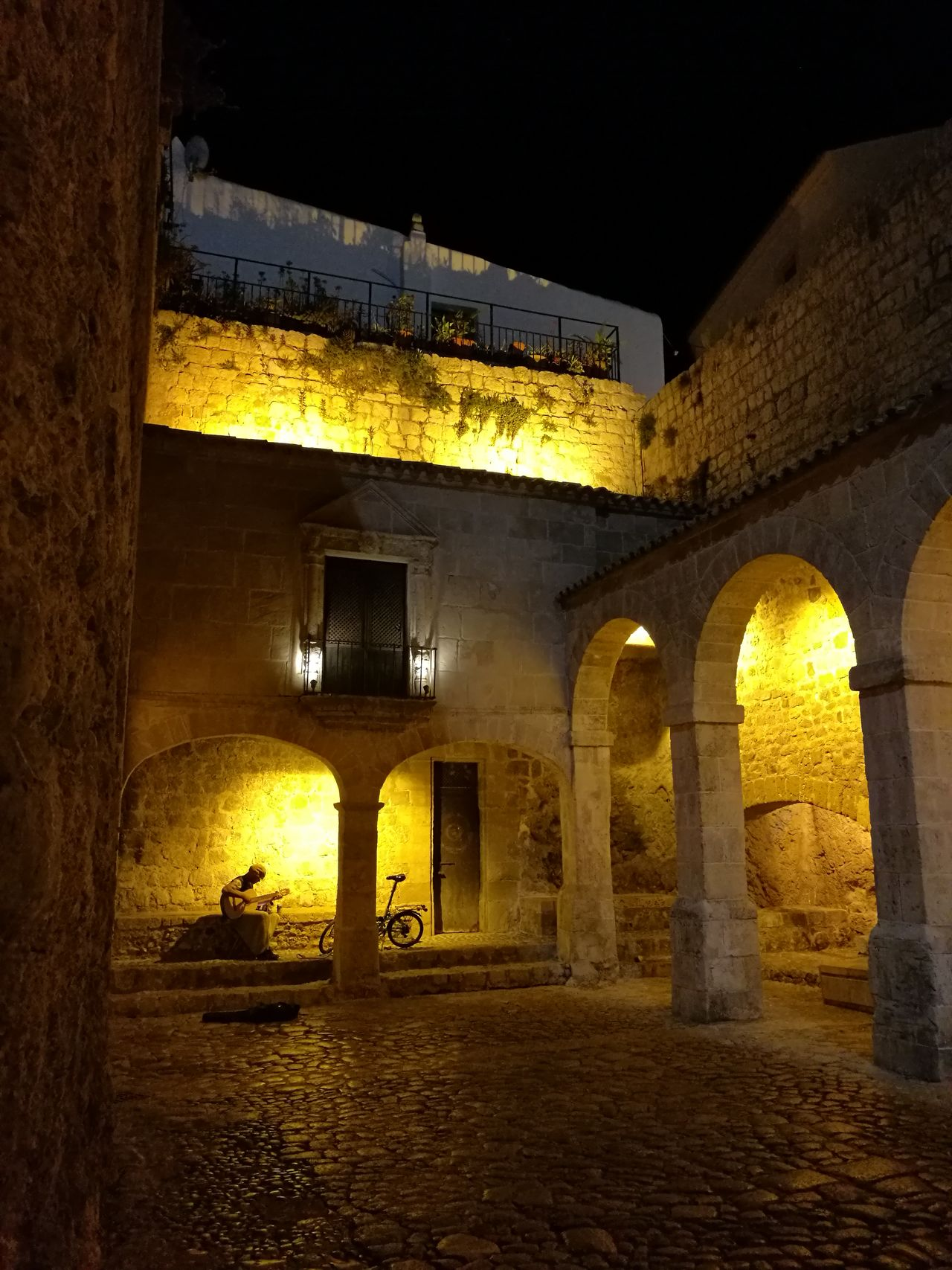 Cities At Night P9smartphone Leicacamera First Eyeem Photo Ibiza IbizabyNight Historic Site