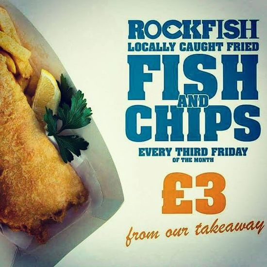 Local £3 fish Friday at Rockfish Suttonharbour Plymouthfisheries Freshfish Local Seafood Bringthefamily Plymouthbarbican Plymouth Plymouthoceancity