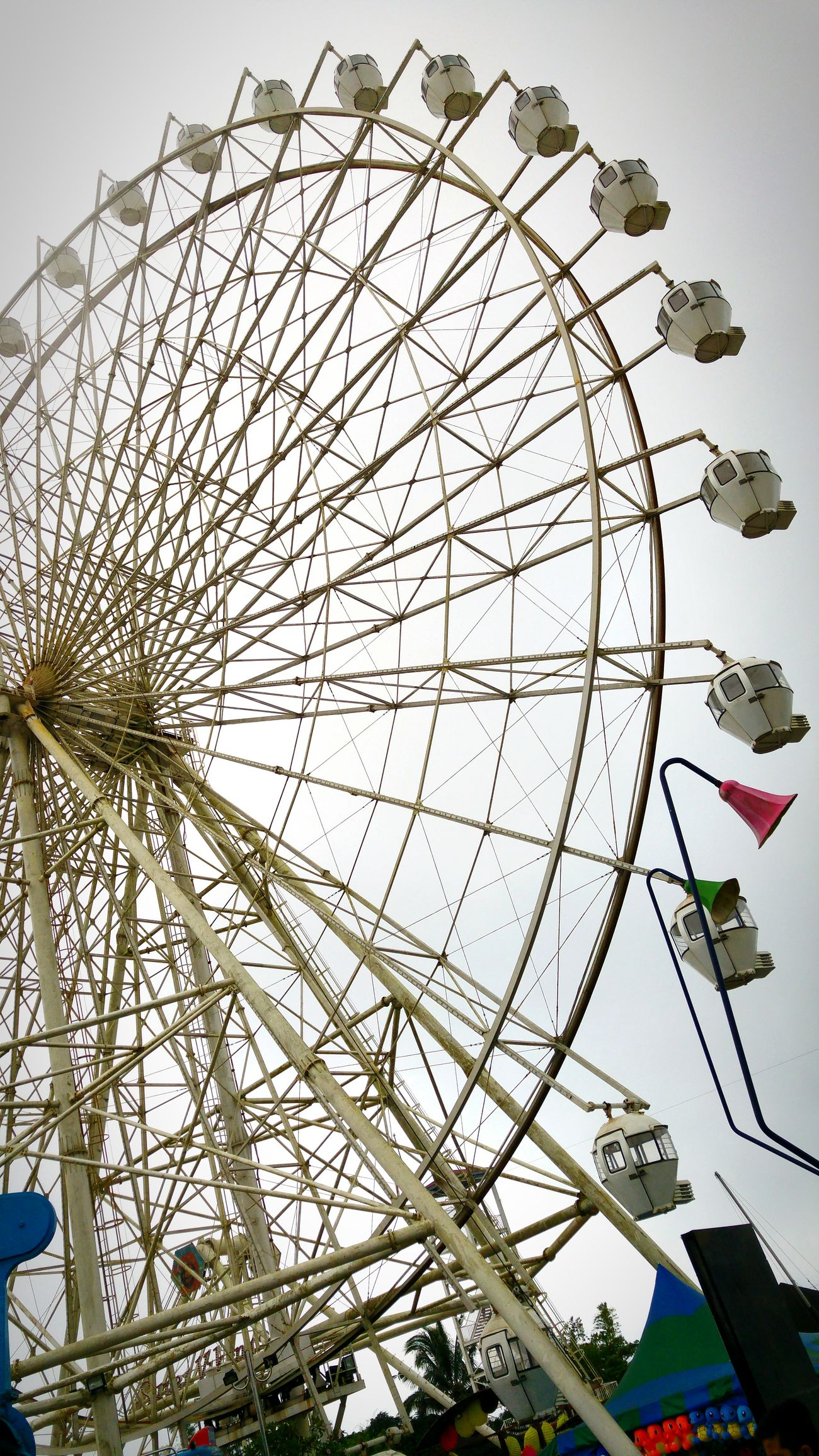 Skyranch Tagaytay Sundaymorning Ferriswheel