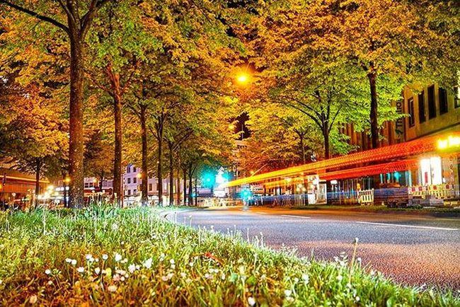 Bielefeld Jahnplatz  Spring Nightshot Bielefeldjetzt